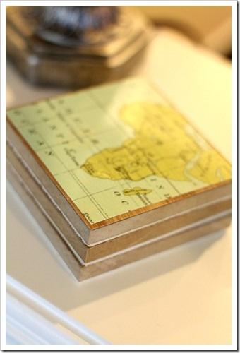 Coasters Using Laminate Flooring Make It Map Coasters