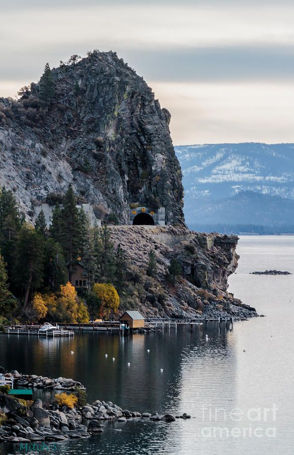 ✯ The Lady Of The Lake - Cave Rock, Lake Tahoe