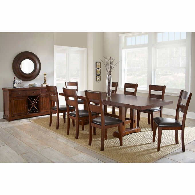 Lukas 10 Piece Dining Set Dining Living Room Chairs Dining Set