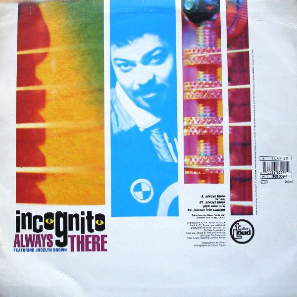 Always There Incognito Feat Jocelyn Brown The 12 Thing 1 Thing 2 People Dancing 90s Music