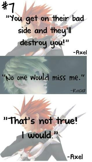 Kingdom Hearts - Axel and Roxas