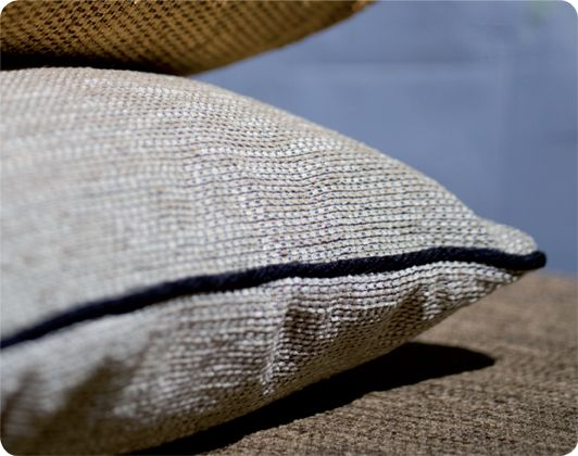 Beautiful, chenille, Extex Spice cushions.