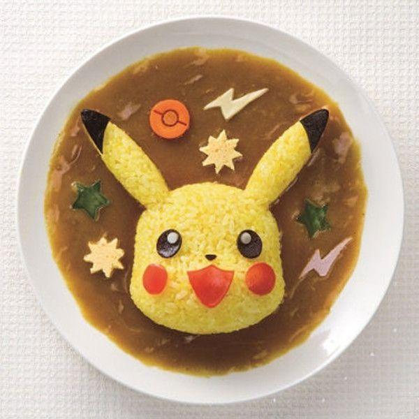 Molde para arroz Pikachu Pokemon