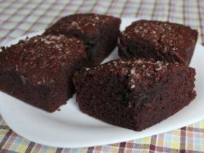 Шоколадный пирог Брауни, пошаговый рецепт с фото.