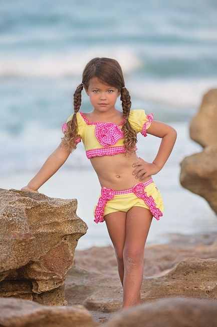 Chichanella Bella Swimwear Diving Daisy 2 Piece Swimsuit