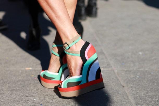 Shoes in Milan