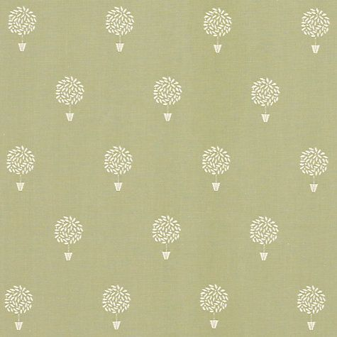 Buy John Lewis Bay Tree Fabric, Sage Online at johnlewis.com Love this fabric.