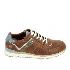 MUSTANG Sneakers 4095307 Marron Bleu