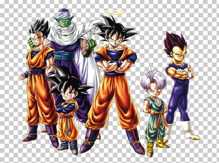 Goku Gohan Trunks Dragon Ball Xenoverse Piccolo Png Clipart Action Figure Anime Cartoon Character Color Free Png Download Goku And Gohan Goku Gohan