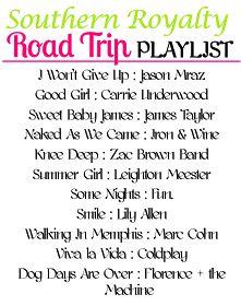 Southern Royalty: Road Trip Playlist
