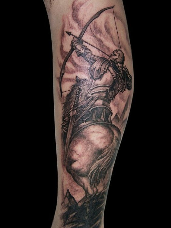 43 Sagittarius Tattoos With Amazing Meanings Bhords Hunting