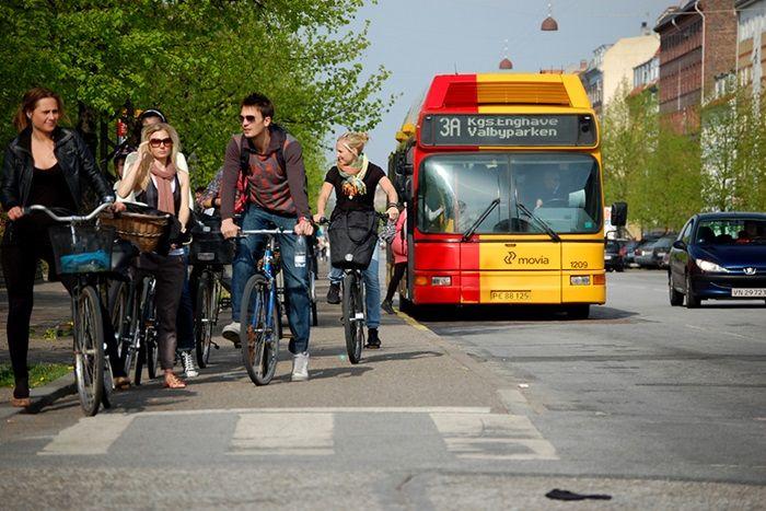 Cyklistforbundet - regler ved busstop