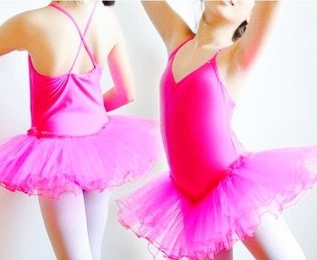 Balletpakje met tutu.