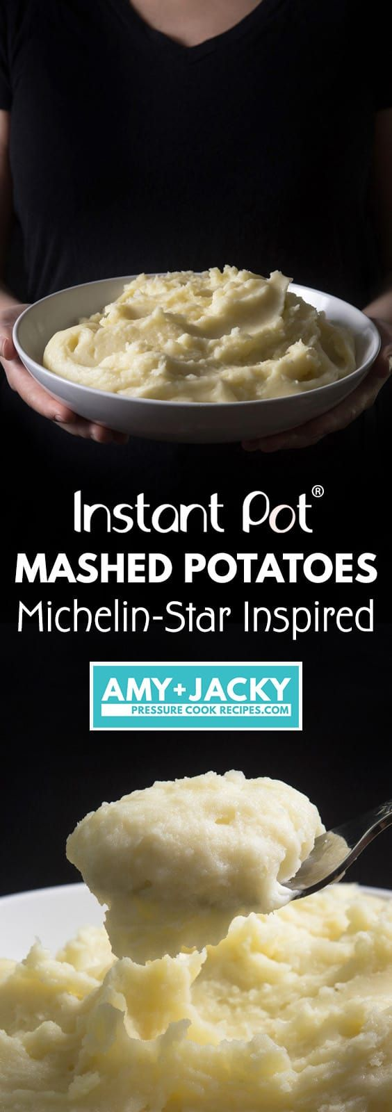 How to make Michelin-Star Inspired Instant Pot Mashed Potatoes Recipe. Super easy homemade classic mashed potatoes with 4 simple ingredients. Creamy smooth, fluffy, buttery rich mashed potatoes takes your tastebuds to heaven.