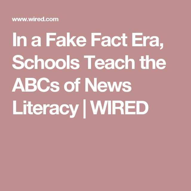 how to teach kids about fake news
