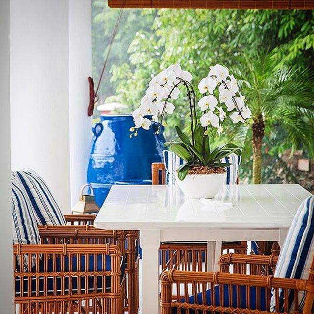 West Indies Dining Room Furniture: The HAMPTONS DINING TABLE & BUNGALOW DINING CHAIR