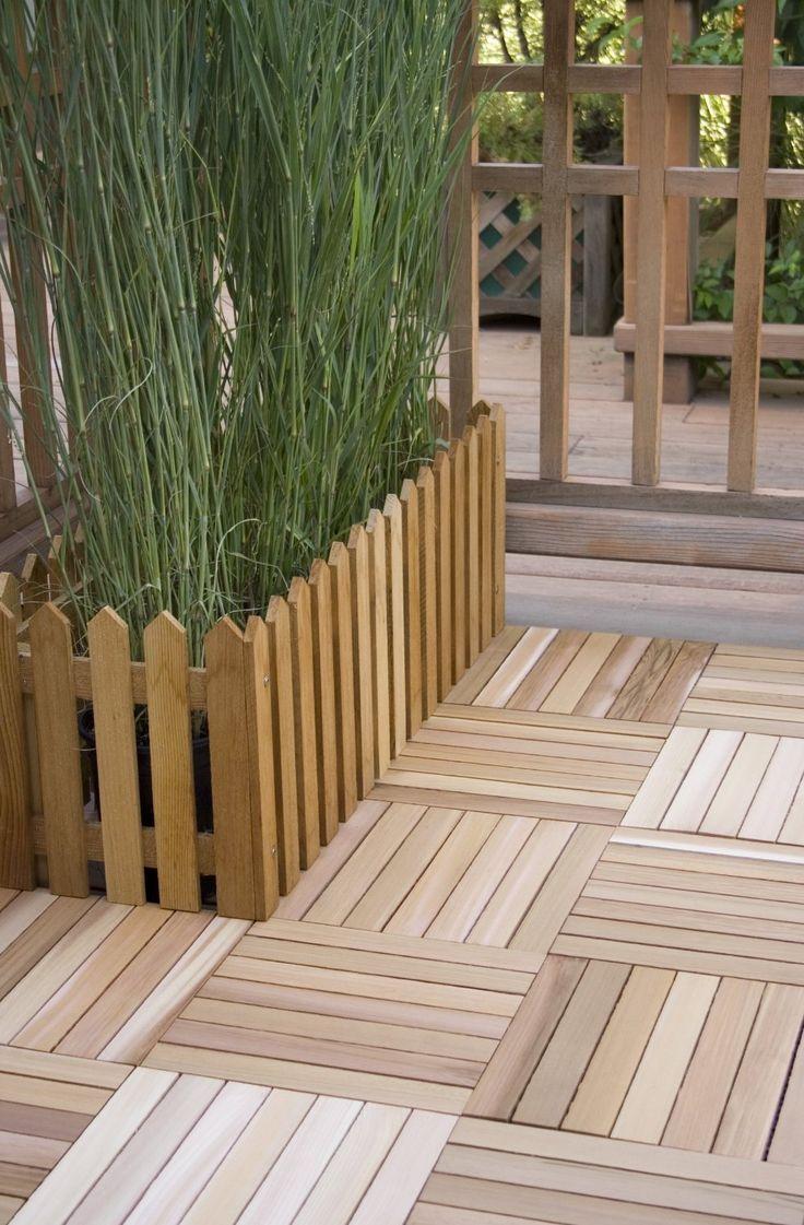 17 best ideas about wood deck tiles on pinterest outdoor - Outdoor patio wood flooring ...