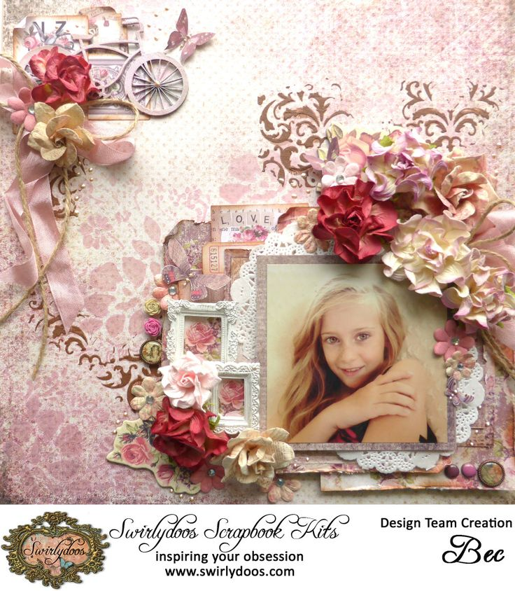 Prima 'Tales of You & Me' Papers Belles Melodies d'amour saved from http://becgenet.blogspot.nl/2016/03/swirlydoos-kit-club-march ~ Wendy Schultz ~ Scrapbook Layouts.