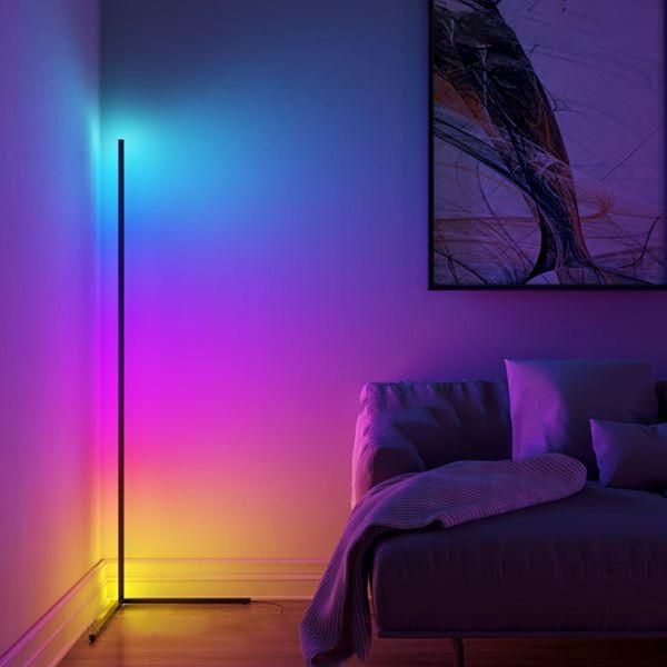 Minimal Lamp Vibrancy Delicfree In 2020 Corner Floor Lamp Corner Lamp Led Floor Lamp