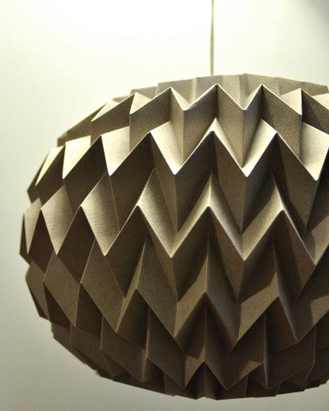 i'm obsessed with these folded paper balls that are handmade by tyART.: Decor Folding, Ball Gray, Folding Paper, Origami Paper, Paper Lamps, Hanging Decor, Paper Balls, Bubbles Ball, Paper Bubbles