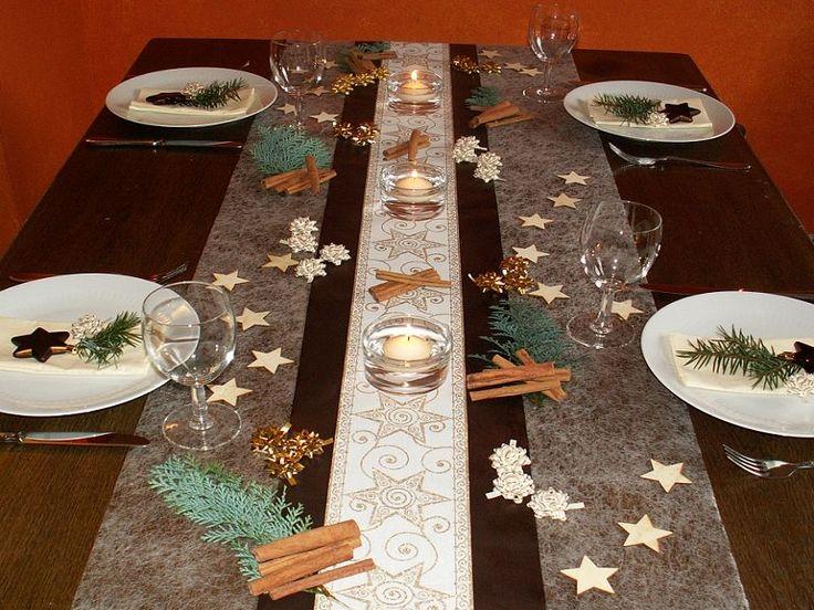 Tischdeko weihnachtsfeier basteln  41 besten Weihnachten - Tischdeko Bilder auf Pinterest ...