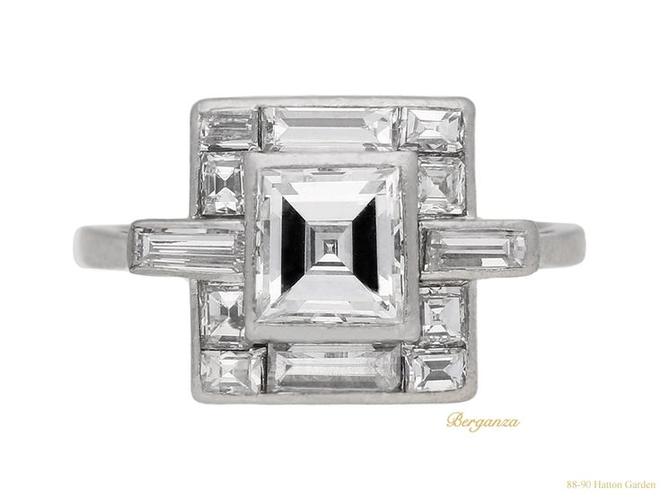 Art Deco Diamond Ring, Circa 1930