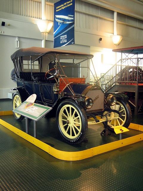 Beautiful Old Vehicle, Reynolds – Alberta Museum, Wetaskiwin, Alberta, Canada