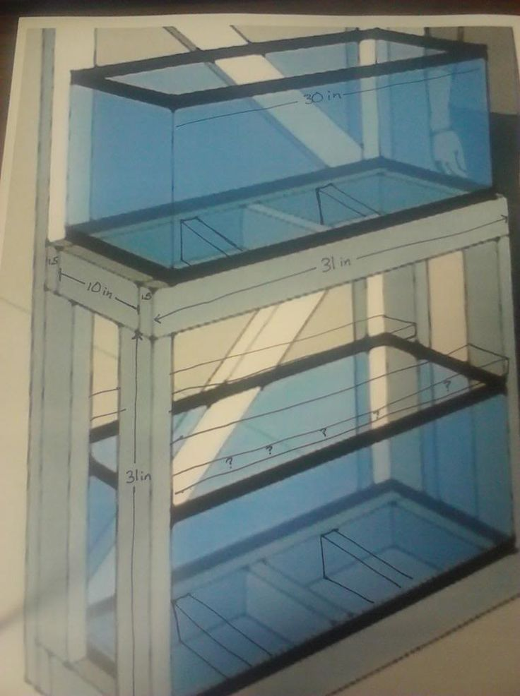 Diy 20 gallon long fish tank stand build aquarium stands for Fish tank and stand