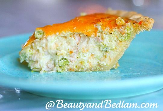 """This quick and easy quiche recipe is so delicious that even the """"Real men"""" will love it!"""