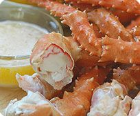 1 lb. pack Jumbo King Crab Legs  Our king crab legs are harvested from the icy waters of the Bering Sea and North Pacific Ocean. They are cooked and flash-frozen right on board the fishing vessel to protect their spectacular flavor. Our jumbo leg portions come about 2 to a pound.    Retail Price - 29.99