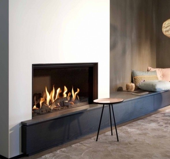 Kal-Fire Fairo ECO-line 80 #Kampen #Fireplace #Fireplaces #Interieur