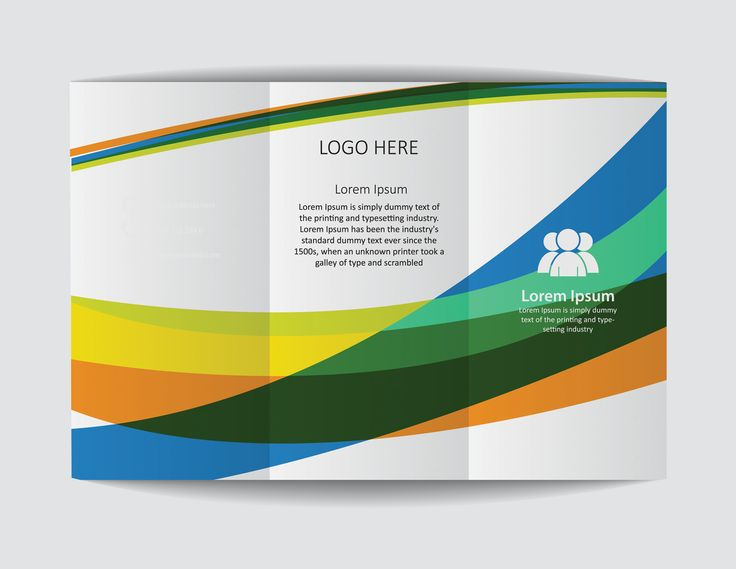 A trifold brochure design.