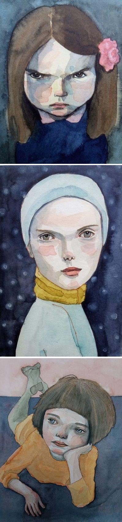 Paintings by Renate Groenewoud