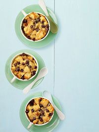 Chocolate Bread Pudding by Nigella Lawson, featured in Ladies Home Journal