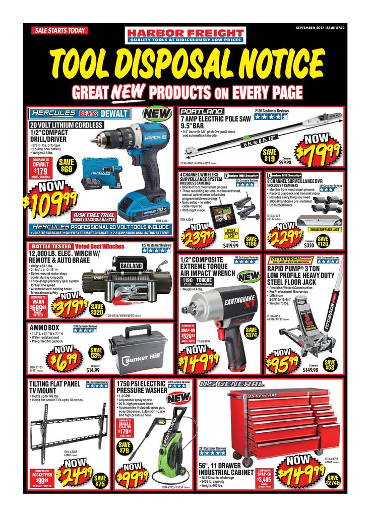 Harbor Freight Tools Monthly Ad September 2017 - http://www.olcatalog.com/harbor-freight-tools/harbor-freight-tools-weekly-flyer.html