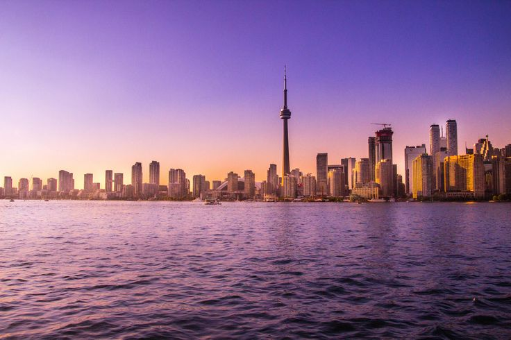 Another picture of downtown Toronto in the sunset. Visit my etsy shop for more pictures like this. Share with your friends and family http://etsy.me/2AQbiAQ