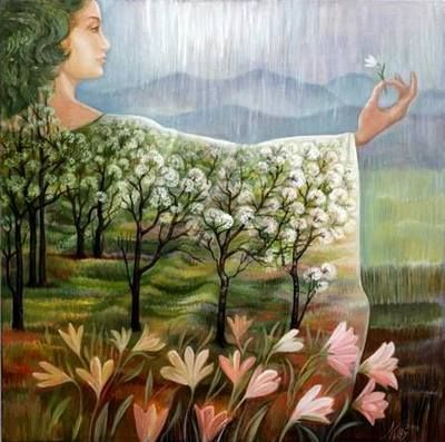nutureabundance: Spring Returns by Bulgarian Artist Nelly Tsenova