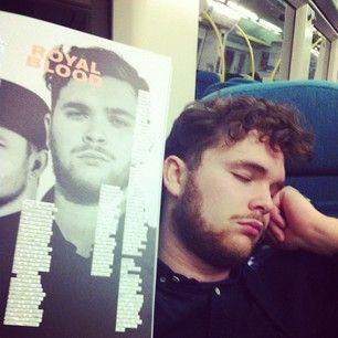 train nappin'