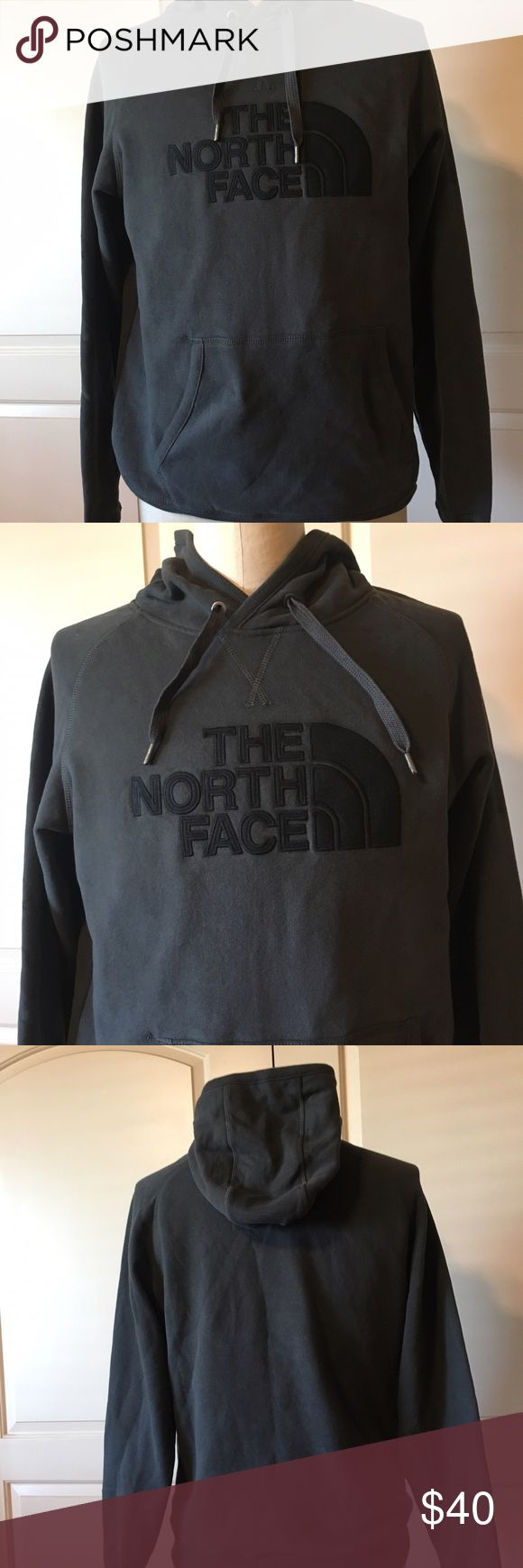 NWT Mens The North Face Pullover Hoodie NWT Asphalt Gray with Black Logo,  Pullover.  Smoke & Pet Free Home. The North Face Shirts Sweatshirts & Hoodies