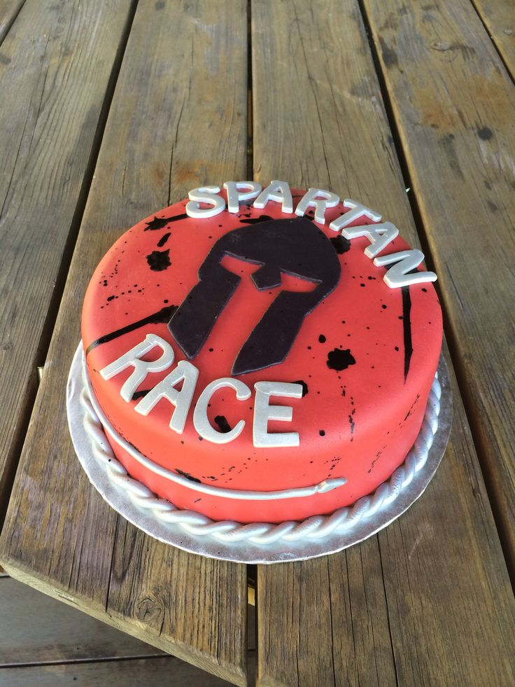 Spartan Race Cake Cakes I Ve Made Pinterest Cakes