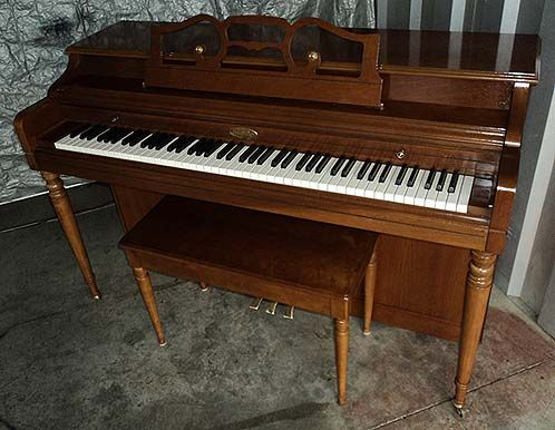 SOLD-SOLD-SOLD---WURLITZER SPINET PIANO - ONLY $599. Includes FREE DELIVERY to 1st Floor in New England. Initial tuning also FREE! Rob Ambrosino Piano Tuner-Technician - 33 years experience. http://www.pianoanswers.com
