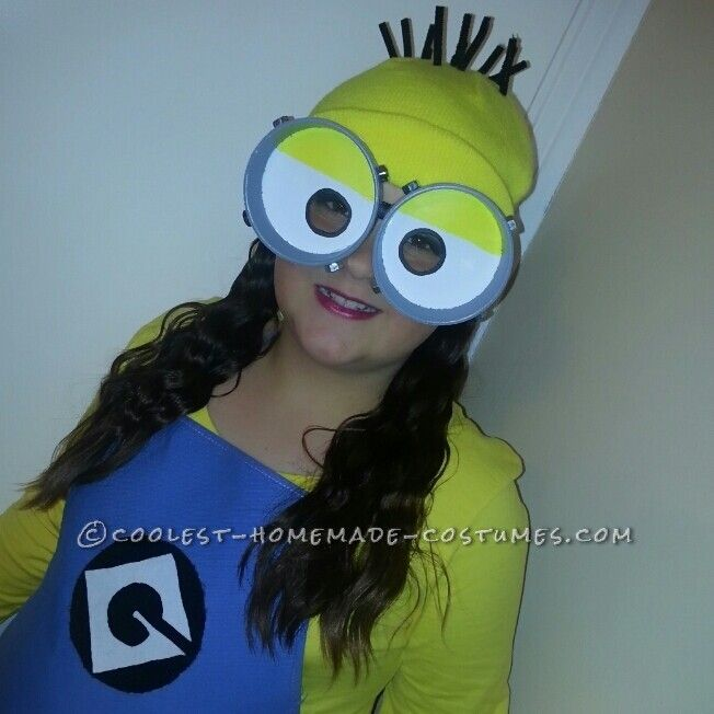 Cutest and Easiest Homemade Minion Costume for All Ages...
