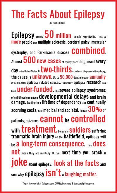 Did you know??!! Epilepsy Awareness