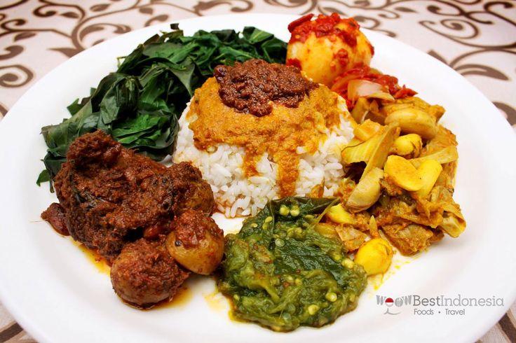 Nasi Padang Best Indonesian Dishes #Jakarta #Indonesia #Food