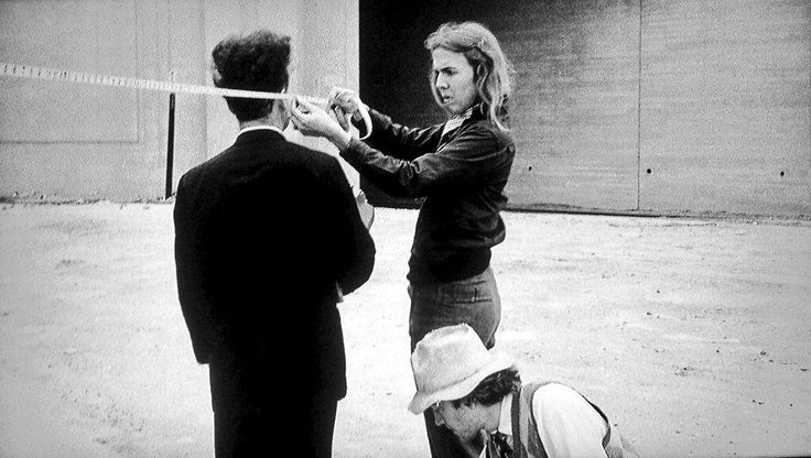 Catherine Coulson with Jack Nance and David Lynch on the set of Eraserhead [1977] : Moviesinthemaking