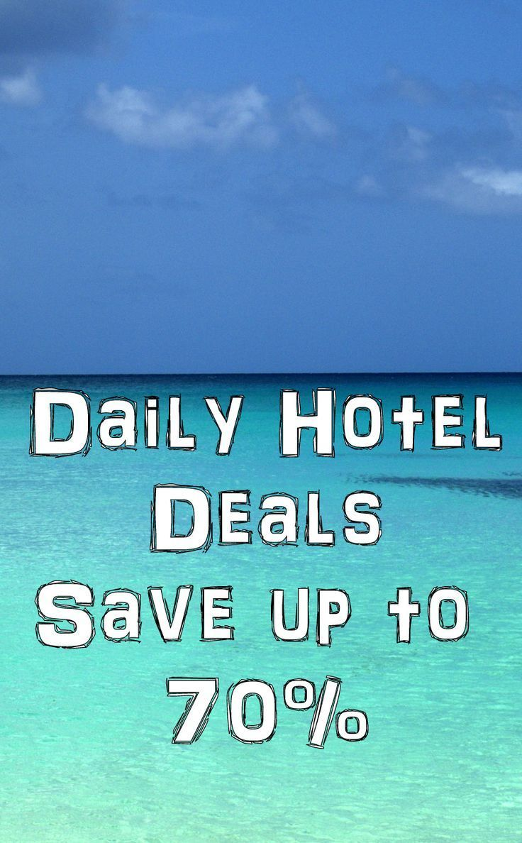 """Daily Hotel Deals - Save up to 70%  All the top travel deals and discounts from the top networks. Budget and last minute travel deals, discounts, and tips.     75% off Cruises  50% off Vacation Packages:  Enter your destination into the """"when to buy flights tool"""" to see when fare's will be the lowest.  Get up to 65% OFF on Las Vegas Hotels!  Save up 30% on Europe Tours  30 Websites for Travel Deals :  26-Apr-2016 to 31-Jan-2019  Save up to $570  When You Book a  Hotel and Flight"""