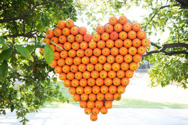 California orange grove summer wedding - photo by Brooke Bakken Photography http://ruffledblog.com/california-orange-grove-summer-wedding