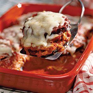 Eggplant Parmesan Recipe | MyRecipes.com