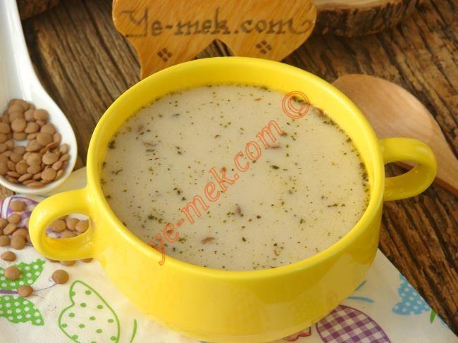 Yoğurtlu Mercimek Çorbası Resimli Tarifi - Yemek Tarifleri
