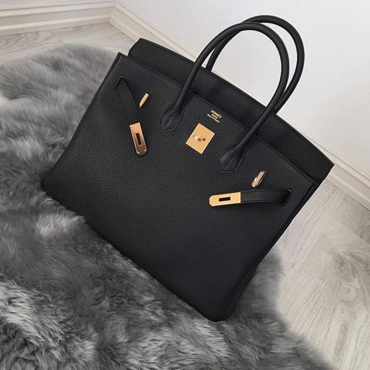 Pretty Black HERMÈS Birkin Bag